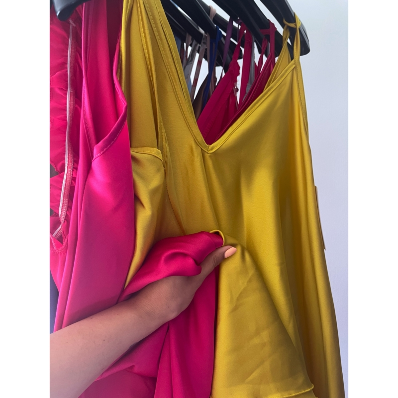 KELLY ruha citrom színben S
